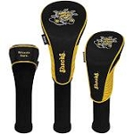 Wichita State Shockers Nylon Graphite Golf Set of 3 Head Covers