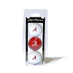 Alabama Crimson Tide Golf Ball Clamshell