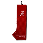 Alabama Crimson Tide Embroidered Golf Towel