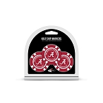 Alabama Crimson Tide Golf 3 Pack Poker Chip