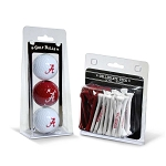 Alabama Crimson Tide Golf 3 Ball/50 Tee