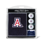Arizona Wildcats Embroidered Golf Gift Set