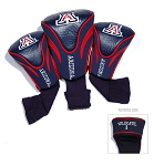 Arizona Wildcats Golf Contour 3 pack Head Covers