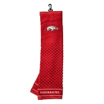 Arkansas Razorbacks Embroidered Golf Towel