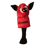 Arkansas Razorbacks Mascot Golf Head Cover