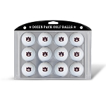 Auburn Tigers Dozen Pack Golf Balls