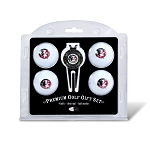 Florida State Seminoles 4 Ball Divot Tool Golf Gift Set