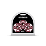 Florida State Seminoles Golf 3 Pack Poker Chip