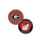 Georgia Bulldogs Golf Ball Marker