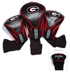 Georgia Bulldogs Golf Contour 3 pack Head Covers