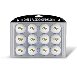 Georgia Tech Yellow Jackets Dozen Pack Golf Balls