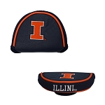 Illinois Fighting Illini Mallet Golf Putter Cover