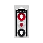 Indiana Hoosiers Golf Ball Clamshell