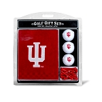 Indiana Hoosiers Embroidered Golf Gift Set