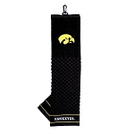 Iowa Hawkeyes Embroidered Golf Towel