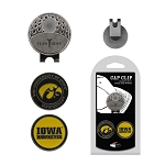 Iowa Hawkeyes 2 Marker Golf Hat Clip