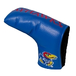 Kansas Jayhawks Vintage Blade Golf Putter Cover