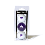 Kansas State Wildcats Golf Ball Clamshell