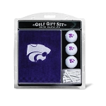 Kansas State Wildcats Embroidered Golf Gift Set