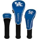 Kentucky Wildcats Nylon Graphite Golf Set of 3 Head Covers