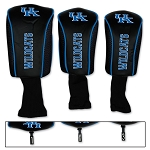 Kentucky Wildcats Mesh Golf Set of 3 Head Covers