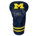 Michigan Wolverines Vintage Golf Driver Head Cover