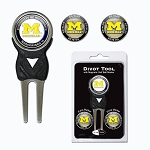 Michigan Wolverines Golf Divot Tool Set