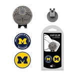 Michigan Wolverines 2 Marker Golf Hat Clip