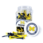 Michigan Wolverines Golf 175 Tee Jar