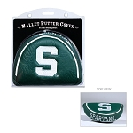 Michigan State Spartans Mallet Golf Putter Cover