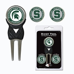 Michigan State Spartans Golf Divot Tool Set