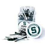Michigan State Spartans Golf 175 Tee Jar