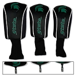 Michigan State Spartans Mesh Golf Set of 3 Head Covers