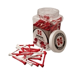 Nebraska Cornhuskers Golf 175 Tee Jar