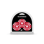 Nebraska Cornhuskers Golf 3 Pack Poker Chip