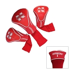 Nebraska Cornhuskers Golf Contour 3 pack Head Covers