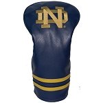 Notre Dame Fighting Irish Vintage Golf Driver Head Cover