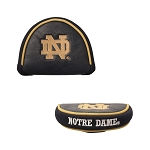 Notre Dame Fighting Irish Mallet Golf Putter Cover