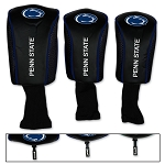 Penn State Nittany Lions Mesh Golf Set of 3 Head Covers