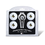 Purdue Boilermakers 4 Ball Divot Tool Golf Gift Set