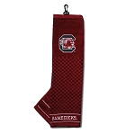 South Carolina Gamecocks Embroidered Golf Towel