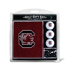 South Carolina Gamecocks Embroidered Golf Gift Set