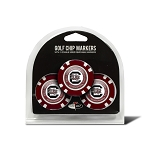 South Carolina Gamecocks Golf 3 Pack Poker Chip