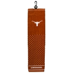 Texas Longhorns Embroidered Golf Towel