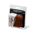 Texas Longhorns Golf 50 Imprinted Tee Pack