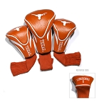 Texas Longhorns Golf Contour 3 pack Head Covers