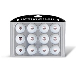 Texas A&M Aggies Dozen Pack Golf Balls