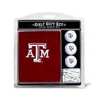 Texas A&M Aggies Embroidered Golf Gift Set