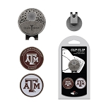 Texas A&M Aggies 2 Marker Golf Hat Clip