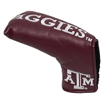 Texas A&M Aggies Vintage Blade Golf Putter Cover